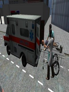 Ambulance Parking 3D Extended For Android Phones V 1.4 Mobile Game
