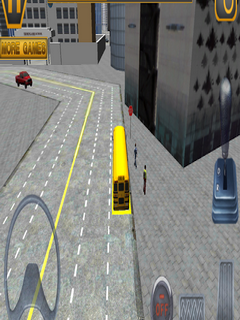 Schoolbus Driving 3D Simulator For Android Phones V 1.5 Mobile Game