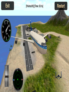 Flight Simulator Fly Plane 3D For Android Phones V 1.11 Mobile Game