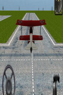 Red Fokker 3D Flight Simulator Mobile Game