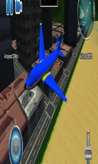 A Plane Flight Simulator 3D Android Game Mobile Game