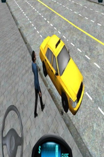 City 3D Duty Taxi Driver Mobile Game