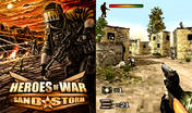 Heroes Of War Sand Storm 3D (240x320 Mobile Game