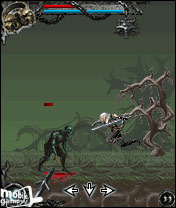 The Witcher (PL) 176x220 Mobile Game