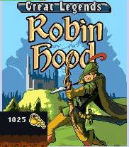 Great Legends Robin Hood Mobile Game