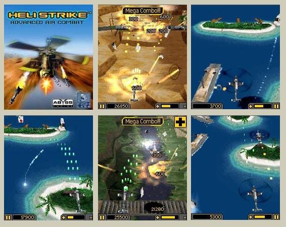 Heli Strike Advanced Air Combat OS9 3D Mobile Game