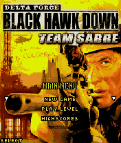 Black Howk Down Mobile Game