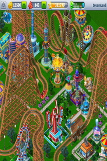RollerCoaster Tycoon Android Free Game Mobile Game