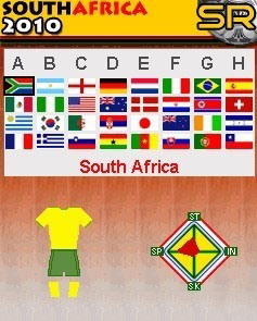 2010 World Cup In South Africa 1.0 Mobile Game