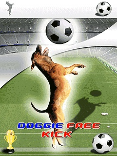 Doggie Free Kick 240x320 Mobile Game