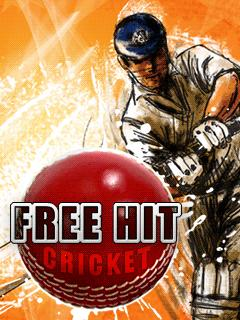 Freehit_Cricket 176x220 Mobile Game