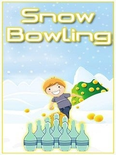 Snow Bowling Mobile Game