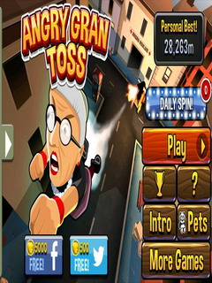 Angry Gran Toss For Free Android V1.0.9 Mobile Game