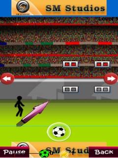 Kicking Football Mobile Game