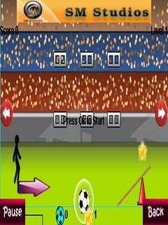 Football Fun Below 240X320 Mobile Game