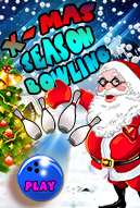 Xmas Season Bowling Mobile Game