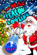 XmasSeasonBowling_128X160 Mobile Game
