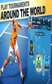 TOP SEED Tennis Sports Management Simulation Game Mobile Game