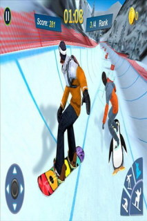 Snowboard Master 3D Mobile Game