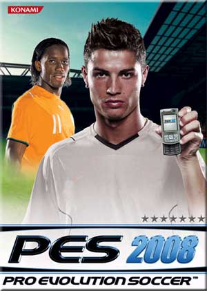Pro Evolution Soccer 2008 Mobile Game