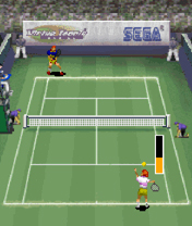 Virtual Tennis Mobile Game