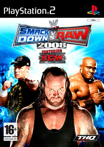 WWE Smack DOWN Vs Raw 2008 Mobile Game