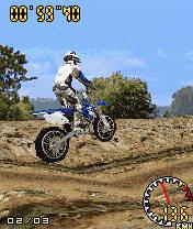 3D MotoCross (240x320) Mobile Game