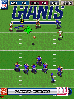 NFL 2009 Mobile Game
