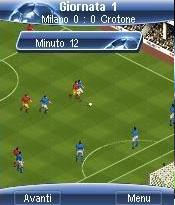 Manager Pro Football 2008 Mobile Game