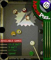 Micro Pool Mobile Game