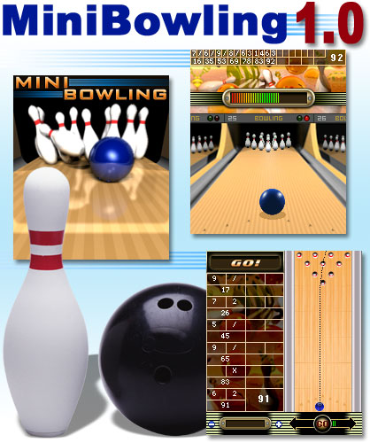 Mini Bowling Mobile Game