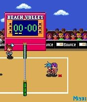Mbounce Beach Volleyball Mobile Game