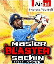 Master Blaster Sachin Cricket Mobile Game