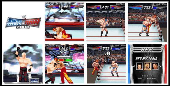 WWE Smackdown Vs. RAW 2008 Mobile Game