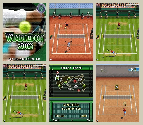 Wimbledon 2006 Tennis Mobile Game