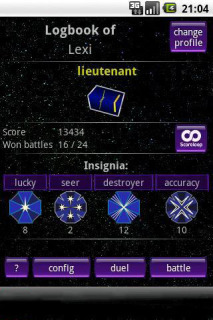 Battleship Sci Fi LIte 1.5 Mobile Game
