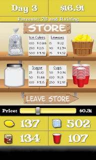 Lemonade Stand Game V1.1 Mobile Game