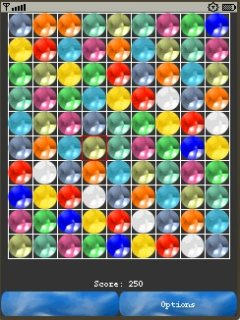 Ball Bruster 320X240 Mobile Game