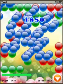 Bubble Mania Deluxe Mobile Game