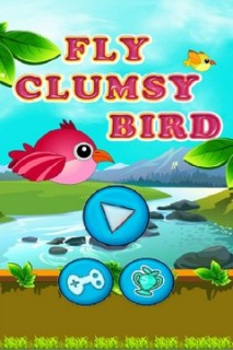 Fly Clumsy Bird Mobile Game