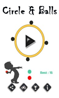 Circle And Balls Mobile Game
