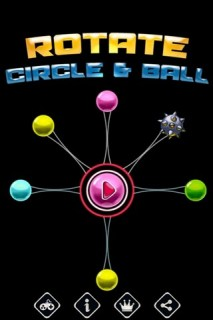 Rotate Circle & Ball Mobile Game