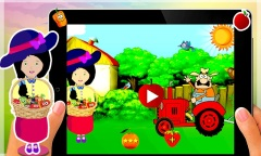 Pink Princess Farm Villa Mobile Game