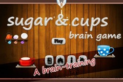Sugar & Cup Brain Game Mobile Game