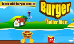 Burger Roller Ride Mobile Game