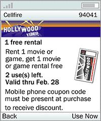 Cellfire - Free Coupons Mobile Software