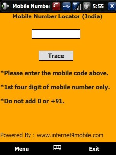 Mobile Number Locater Mobile Software