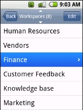 Upvise Notebooks 3.5.3 Mobile Software