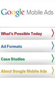 Google Mobile Ads For Android Phones V1.2 Mobile Software