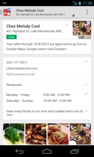 Google Places For Business For Android Phones V1.33 Mobile Software